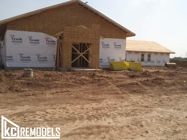 Home framing in Shawnee