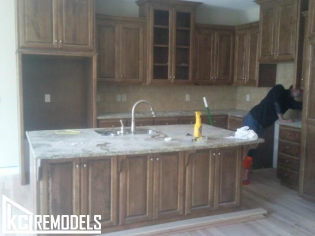 Kitchen remodel in Kansas City