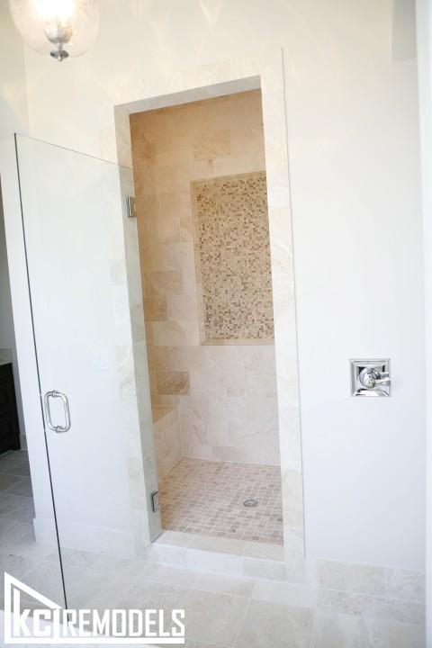 Leawood tile shower