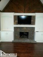 Cabinets / Bookcases around Fireplace