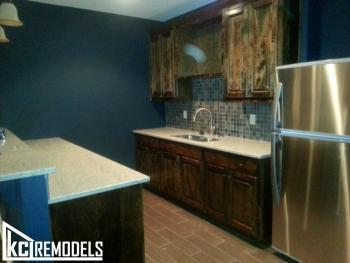 Basement Kitchen Addition
