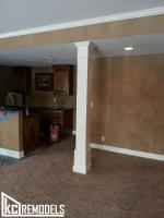 Basement finish in Shawnee
