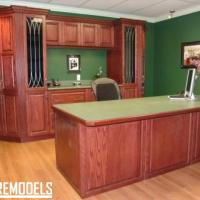 Basement Office Remodel in Shawnee