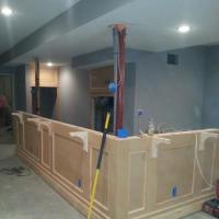 Basement remodel in Cedar Creek BEFORE