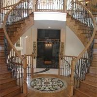 Custom stairs in Cedar Creek