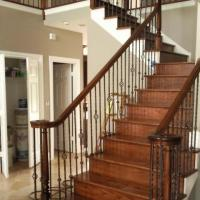 Custom stairs in Leawood