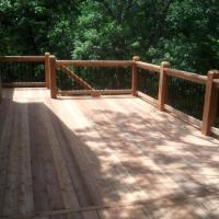 Deck in Cedar Creek