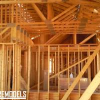 Home framing in Lenexa
