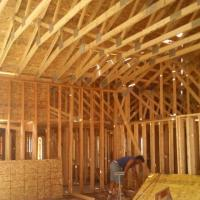 Home framing in Olathe