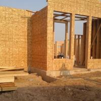 Home framing in Overland Park