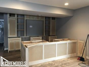 Custom Cabinetry iin Progress -Overland Park