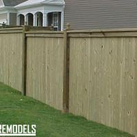 Privacy fence in Lenexa