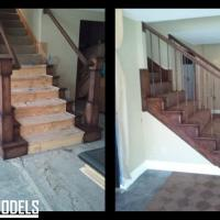 Stairs before and after 3