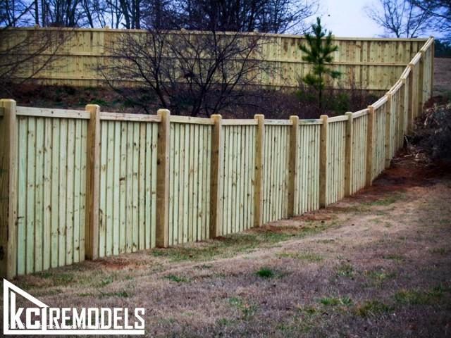 Privacy fence in Overland Park