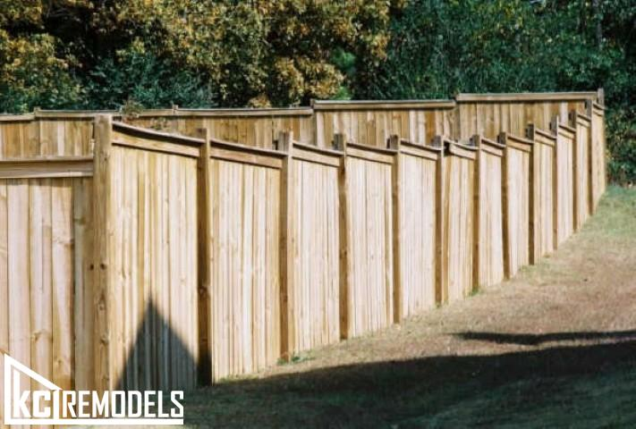 Privacy fence in Shawnee