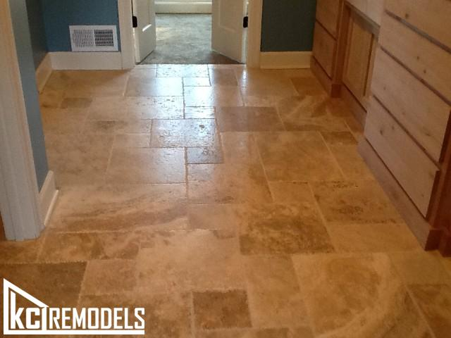 Tile floors in Shawnee