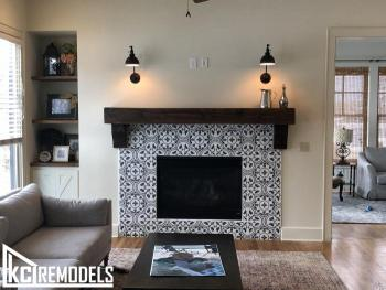 Fireplace Remodel -Leawood